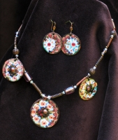 "Jewelry Set ""Winter"""