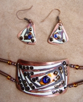"Jewelry Set ""Blue Eye"""