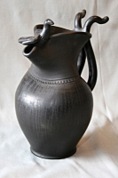 "Pottery Jug ""Friends"""