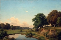 "Copy of Painting ""Landscape with Pond"""