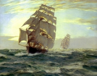 "Copy of Painting ""On Sails"""