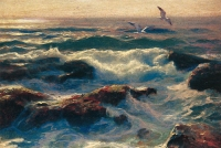 "Copy of Painting ""Evening Waves"""