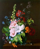 "Copy of Painting ""Bouquet with Mallows"""