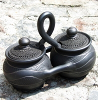 "Ceramic cooking twin-pots ""Classic"""