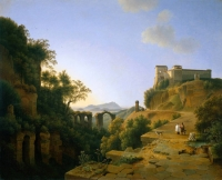 "Copy of Painting ""Italian Landscape"""