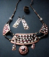 "Set of Elite Jewelry ""Hryvna"""
