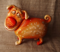 "Figurine ""Doggy-burbesyk"""