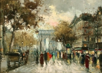 "Copy of Painting ""Paris"""