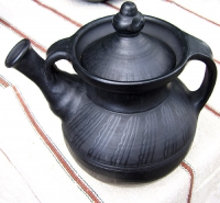 "Teapot  pottery ""Cossack"""