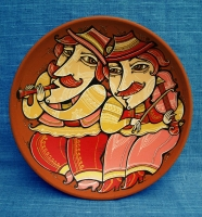 "Decorative Plate ""Musicians"""