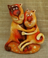 "Figurine ""Love Cats"""