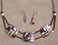 "Jewelry Set ""Geometry-1"""