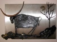 Wrought Iron Painting
