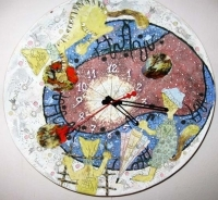 "Wall Clock ""Dreamers"""