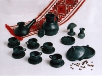 "Gavaretska Ceramic Coffee Set ""Classic"""