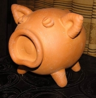 "Terracotta Ceramic Money-box ""Pig"""