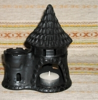 "Open-work Candlestick ""Castle"""