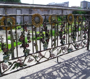 Wrought-iron Railings
