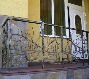 Wrought-iron Railings