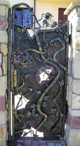Forged Garden Gates