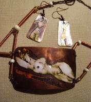"Jewelry Set ""Lying Nature"""