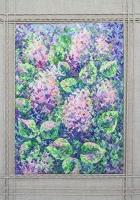 """Interior Canvas """"Lilac"""""""