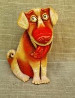 """Figurine """"Once Lived a Dog"""""""