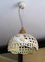 """Ceramic Chandelier """"Daisies"""""""
