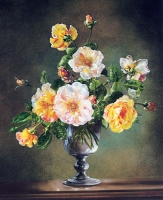 """Copy of Painting """"Golden Roses"""""""