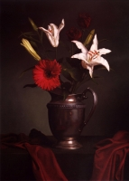 """Copy of Painting """"Bouquet with Lilies"""""""