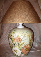 """Table Lamp """"Poppies"""""""