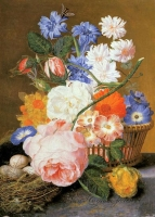 """Copy of Painting """"Bouquet in the Basket"""""""