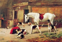 "Copy of Painting ""Before Hunting-2"""