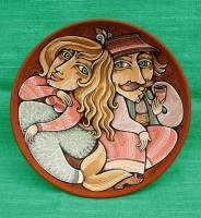 "Decorative Plate ""Malva Landa"""