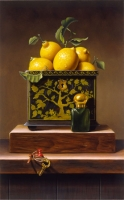 """Copy of Painting """"Box with Lemons"""""""