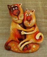 "Figurine ""Love Cats"""