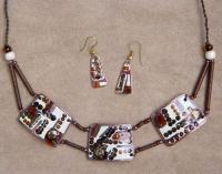 """Jewelry Set """"Geometry-1"""""""