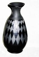"Ceramic vase ""Night-day"""