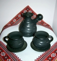 """Gavaretska Ceramic Coffee Set """"Small"""""""