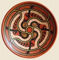 """Decorative Plate """"Wind Song"""""""
