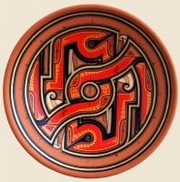 "Decorative Plate ""Beregynya"""