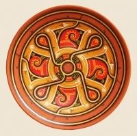 """Decorative Plate """"Coccarda"""""""