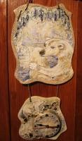 """Ceramic Wall Clock """"Umka"""""""
