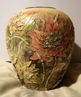 "Ceramic Vase ""Lychnis"""