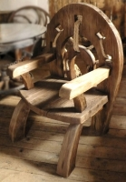 """Кресло деревянное """"Хоббит"""""""