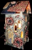 """Ночник керамический """"Цветочный дом"""""""