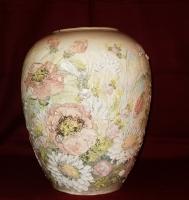"""Ceramic Vase """"Poppies"""""""