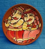 "Decorative Plate ""Musicians"""