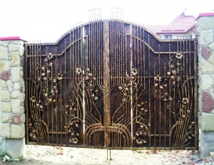Forged gate